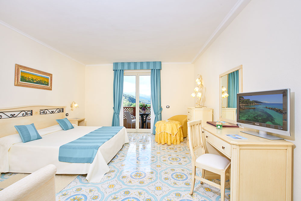 Camere e suite dell'Hotel 4 stelle all'Isola d'Elba